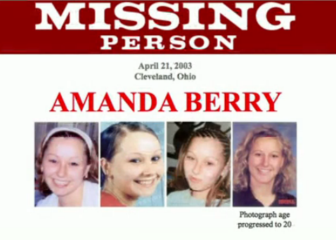 Amanda Berry disappeared in 2003 aged 16 photo