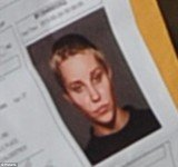 Amanda Bynes shaved head mugshots was revealed as she appeared in court for reckless endangerment