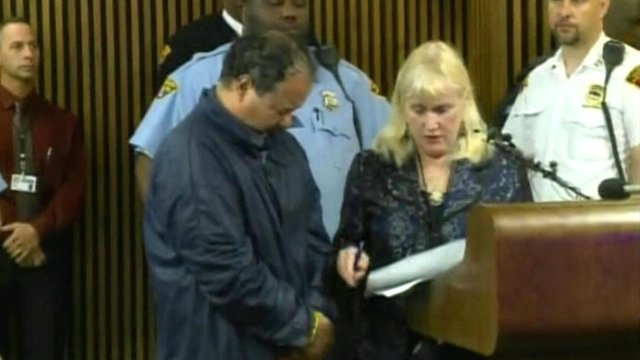 Ariel Castro, who is accused of imprisoning three women for about a decade in Cleveland, has made his first court appearance