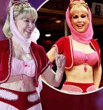 Barbara Eden donned her iconic costume for the opening ceremony of the 21st Life Ball in Vienna
