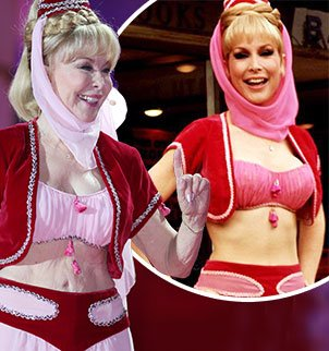 Barbara Eden donned her iconic costume for the opening ceremony of the 21st Life Ball in Vienna photo