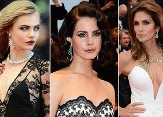 Celebrities choosing Chopard's gems for their red carpet appearances at this year's Cannes festival include Cara Delevigne, Lana Del Rey and Cindy Crawford