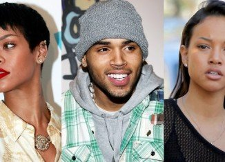 Chris Brown celebrated his 24th birthday at the Emerson nightclub in LA with ex Karrueche Tran but without Rihanna