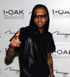 Chris Brown continued his birthday bender on Saturday night at 1 OAK Nightclub in Las Vegas