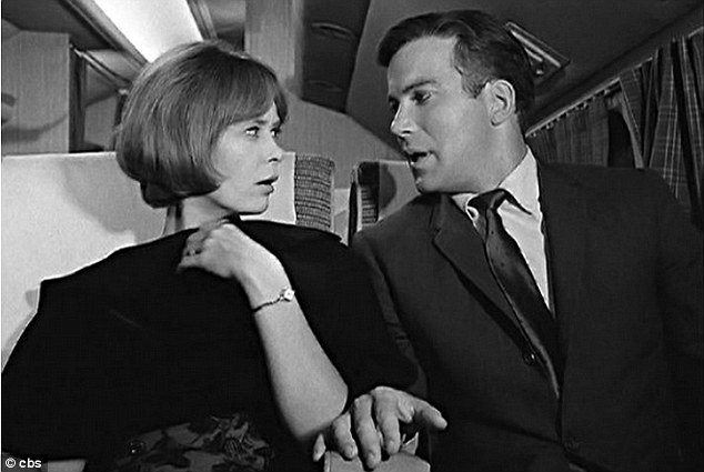 Christine White played a calming wife on a classic 1963 Twilight Zone episode that featured a young William Shatner photo
