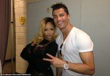 Cristiano Ronaldo and Rihanna met up backstage at her concert in Lisbon