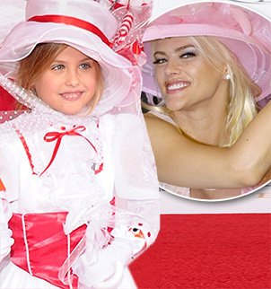 Dannielynn Birkhead was the spitting image of her late mother Anna Nicole Smith at the 139th Kentucky Derby held in Louisville