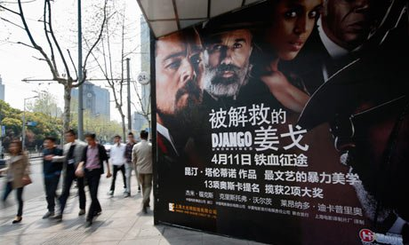 Django Unchained has reopened in cinemas in China, a month after it was pulled for technical reasons