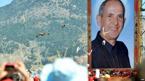 Don Giuseppe Puglisi has been beatified in a ceremony attended by 50,000 people in Sicily
