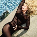 Former supermodel Christie Brinkley has posed in a swimsuit at 59