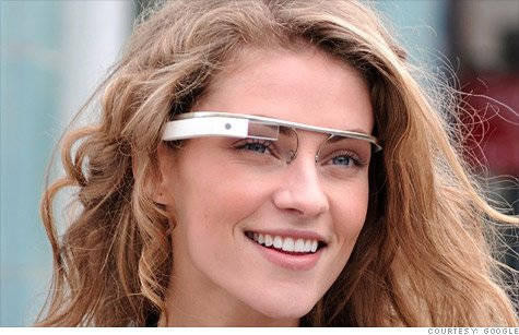 Google Glass will perform many of the same tasks as smartphones, except the spectacles respond to voice commands instead of fingers touching a display screen
