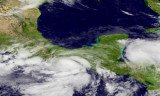 Hurricane Barbara has been lashing parts of Mexico's Pacific coast after making landfall near Salina Cruz