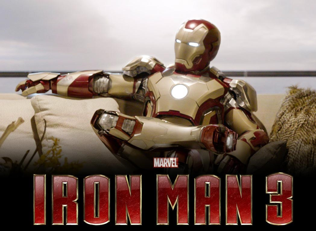 iron man 3 second biggest ever opening weekend at us box. Black Bedroom Furniture Sets. Home Design Ideas