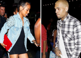 It seems things are going so well between Chris Brown and Karrueche Tran once again that they have started living together full time
