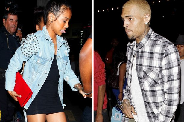 It seems things are going so well between Chris Brown and Karrueche Tran once again that they have started living together full time photo