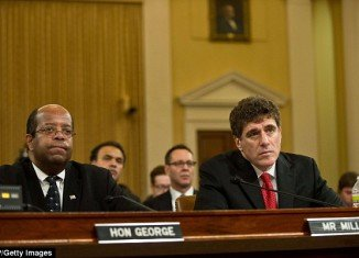 J. Russell George, the Treasury inspector general for tax administration, testified alongside ousted IRS head Steven T. Miller