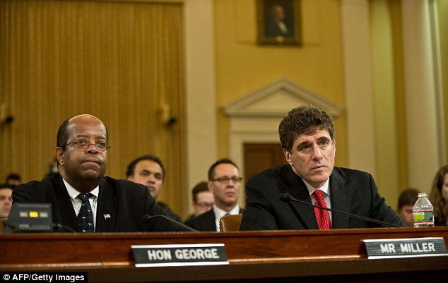 J. Russell George the Treasury inspector general for tax administration testified alongside ousted IRS head Steven T. Miller photo