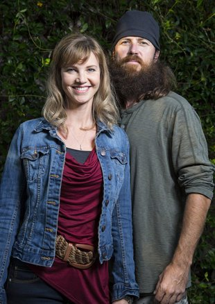 Jase Robertson and his wife Missy photo
