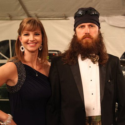 Jase and Missy Robertson  photo