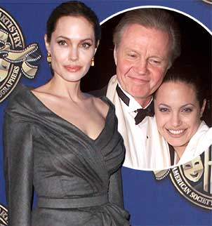 Jon Voight, Angelina Jolie's father, revealed he learned about her preventive double mastectomy on the internet along with the rest of the world