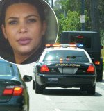 Kim Kardashian pulled over by police amid rumors of relationship problems with Kanye West