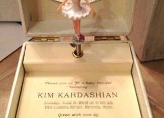 Kim Kardashian's baby shower is scheduled for June 2 and music box invitations have been already sent out for the event