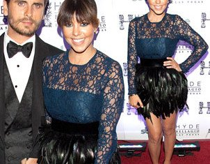 Kourtney Karashian celebrated her partner Scott Disick's 30th birthday in Las Vegas