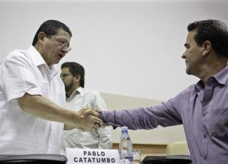 Left-wing FARC rebels and the Colombian government have agreed on land reform, after more than six months of peace talks