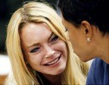 Lindsay Lohan was reportedly crying hysterically as she finally headed off to court ordered rehab on Wednesday
