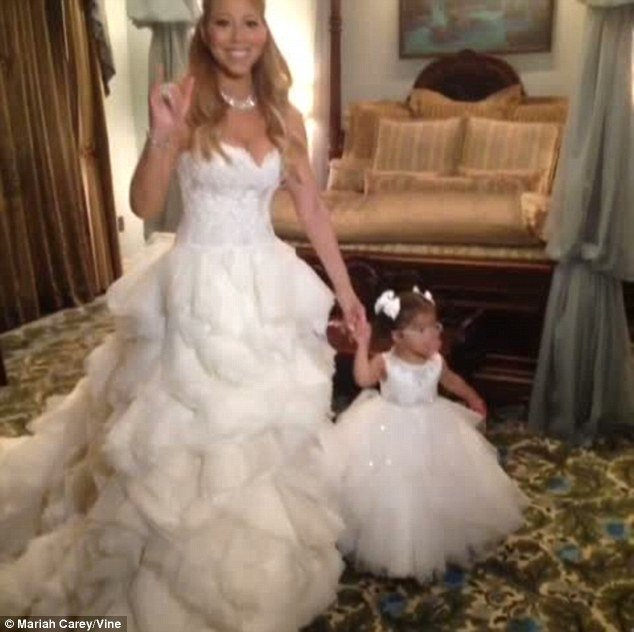 mariah carey and nick cannon renew vows by shutting down