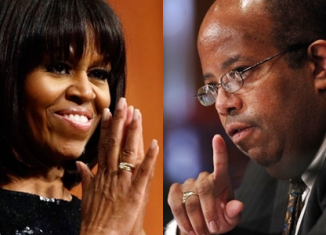 Michelle Robinson, the future first lady of the US, may have dated Treasury Department Inspector General J. Russell George at Harvard Law School
