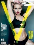 Miley Cyrus has posed for a new issue of V magazine in her raciest photo shoot ever