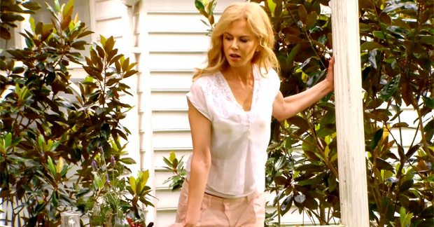 Nicole Kidman shows her playful side as she is staring in a commercial for Melbourne-based Swisse Wellness Vitamins