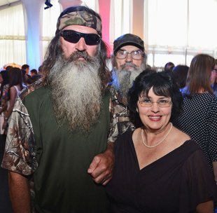 Phil Robertson and Miss Kay photo