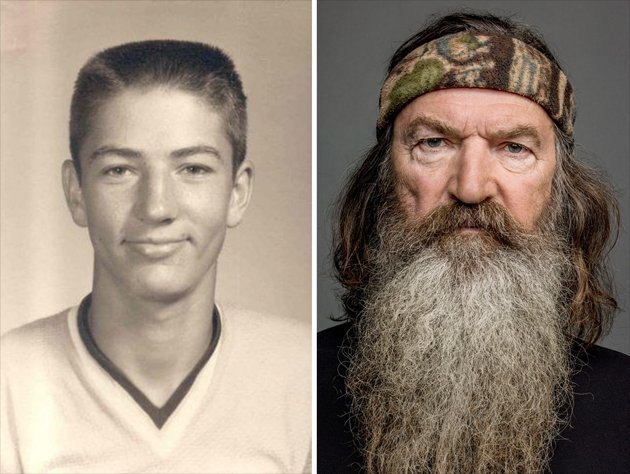 Phil Robertson without beard photo