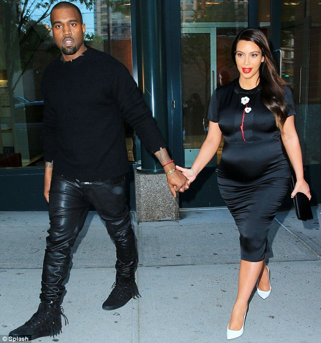 1db7a20df5146 Pregnant Kim Kardashian has revealed she is pretty terrified about becoming  a mother