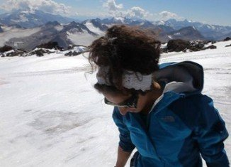 Raha Moharrak is the first Saudi woman who has made history by reaching the summit of the world's highest mountain