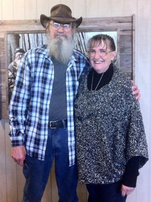 Si Robertson and his wife Christine photo