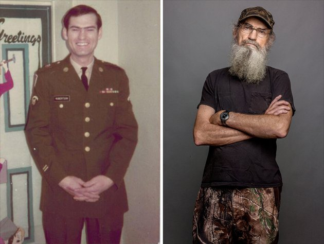 Si Robertson without beard photo