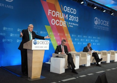 The OECD has revised its growth forecasts for the eurozone and called on the European Central Bank to consider doing more to boost growth