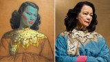 Vladimir Tretchikoff's portrait Chinese Girl, often referred to as The Green Lady, was sold for almost $1.5 million at auction in London