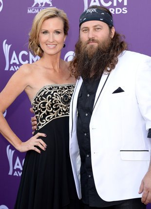 Willie and Korie Robertson  photo