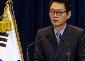 Yoon Chang-jung, who was a spokesman for President Park Geun-hye, was alleged to have groped a Korean-American intern in a Washington hotel