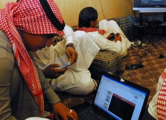 A Saudi court has sentenced seven cyber activists to between five to 10 years in prison for inciting protests, mainly by using Facebook