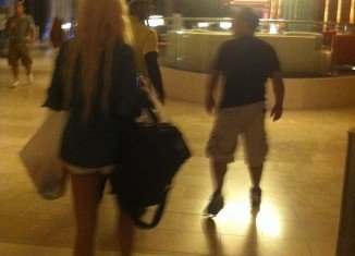 Amanda Bynes spotted doing jumping jacks as she plays slots at Atlantic City casino