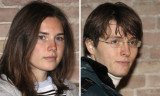 Amanda Knox and her former boyfriend Raffaele Sollecito were caught hugging and kissing during a secret reunion in New York this