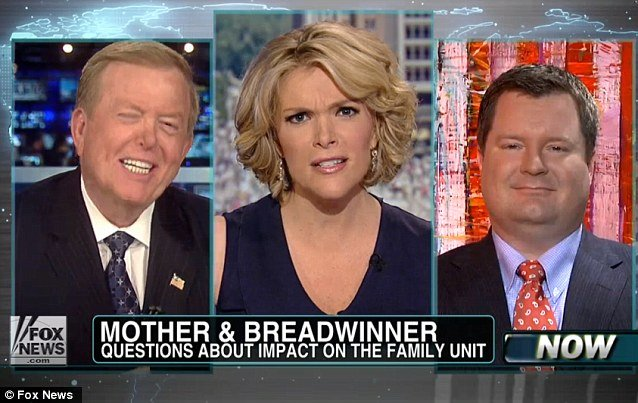 An argument broke out when Megyn Kelly hosted RedState.com editor Erick Erickson and fellow Fox host Lou Dobbs in response to a discussion the two men had on Dobbs show photo
