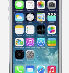 Apple has unveiled iOS7 revamp