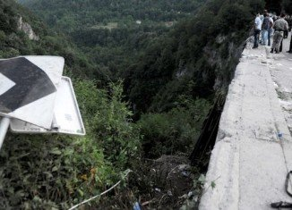 At least 18 Romanians were killed after a bus plunged off Moraca river bridge in Montenegro