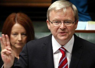 Australia's PM Julia Gillard has been ousted by Kevin Rudd as leader of Labor Party